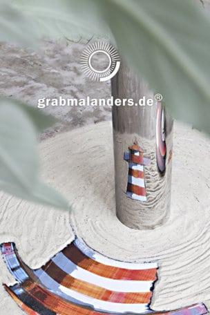 Grabstein Leuchtturm